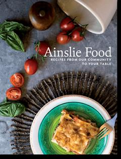 Ainslie School cookbook cover