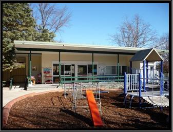 photograph of Baker Gardens preschool playground